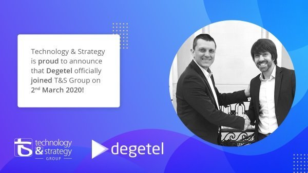 Degetel rejoint Technology & Strategy Group