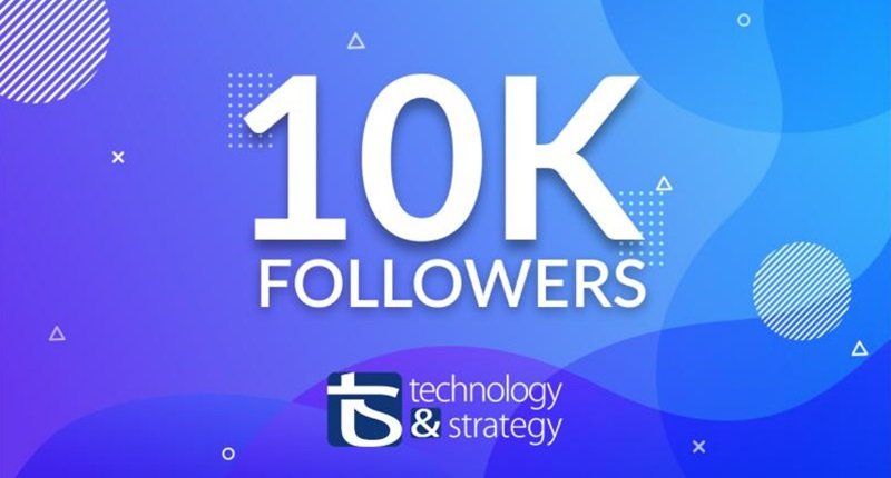 Many thanks to our 10.000 followers on LinkedIn!