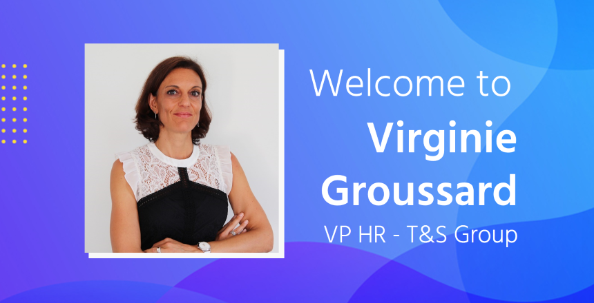 Virginie Groussard named VP Human Resources
