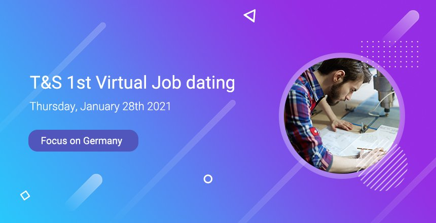 Register for our virtual Job Dating on January 28th