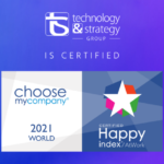 T&S certifié HappyAtWork 2021 Monde