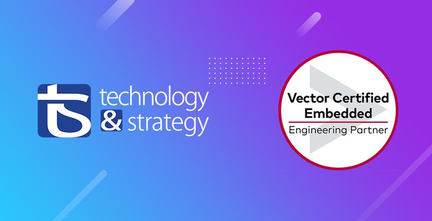 T&S devient partenaire officiel d'ingénierie embarquée certifié Vector
