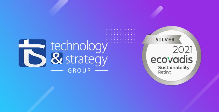 T&S récompensé d'une médaille d'argent EcoVadis 2021
