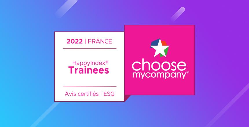 T&S France obtient l'accréditationHappyIndex®Trainees 2022