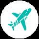 icons aeronautique vert