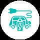 icons automobile vert