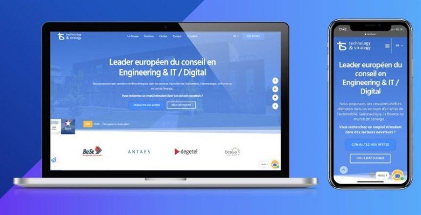 T&S lance son nouveau site internet